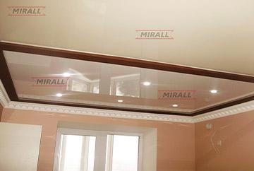 Фотографії натяжних стель в коридорі